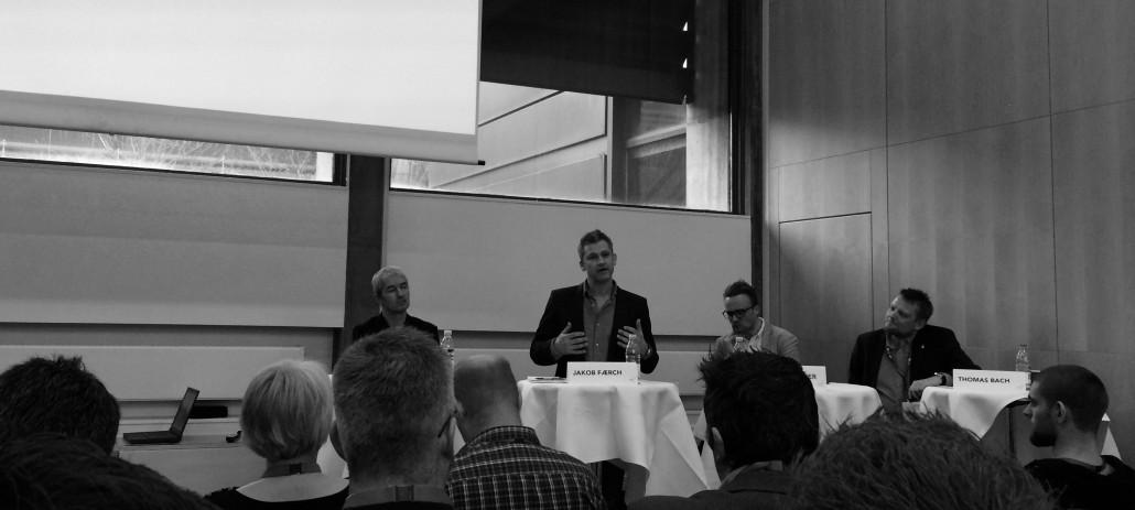 Jakob Færch i debat under DIF kongres 2015. Photo credit: Nick Sturm