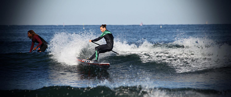 Fra DM SUP Surf & Beach Race i Klitmøller. Foto af: Cold Hawaii Surfphoto by REEA